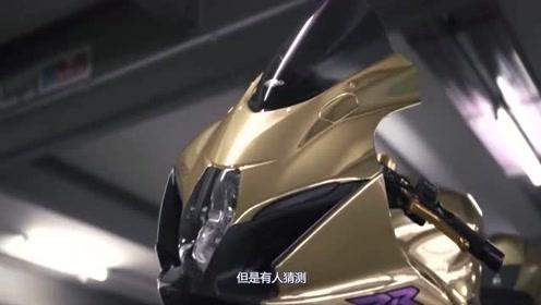 黄金摩托,有钱人的世界真的不太理解