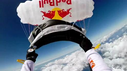 3万英尺的天空你能做什么?致敬极限运动爱好者。