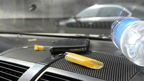 """老司机:车内不能放四种""""易燃易爆品"""",不然汽车发生自燃就后悔"""