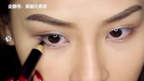 皮肤偏黑适合什么眼妆,大地色更换成金色眼影,张扬你的十足个性