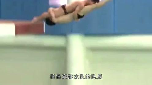 跳水运动员姿势销魂,最后得分也是出乎意料?观众:真是开眼界了