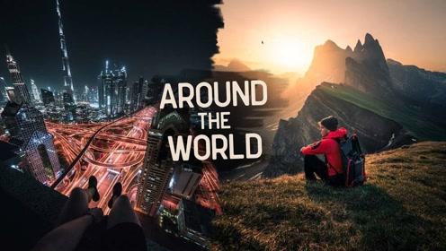 为下个假期准备!5分钟带你看完全世界的美好风景