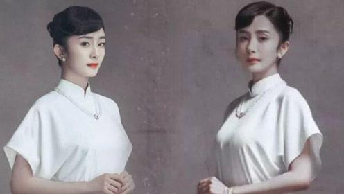 杨幂民国照出炉 每一张都万般风情怪不得当年能迷倒刘恺威