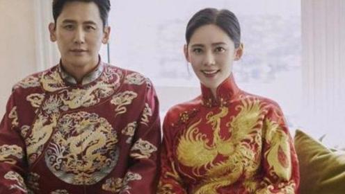 婚礼上秋瓷炫,3套礼服美出天际 网友:于晓光命太好