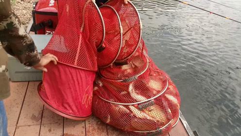 钓鱼人,280元的鱼票,3元/斤回收,你有本事上岸吗?