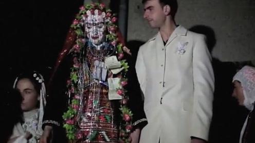 世界上最丑新娘,新郎以为娶了个女鬼吓坏了!
