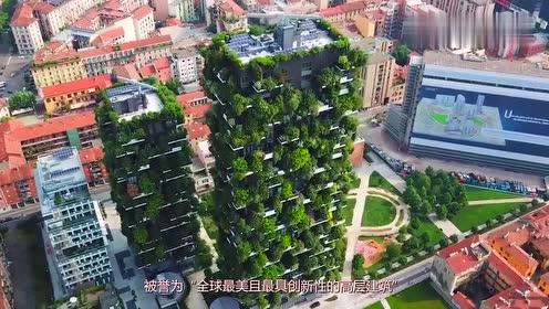 世界上第一座森林公寓,2000万一套,你愿意和上万棵树共居吗
