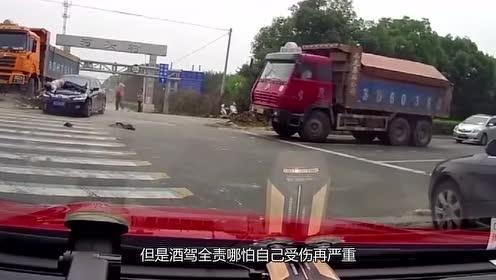 摩托车逆向行驶,一头扎上小轿车,在车上连滚两圈