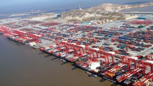 上海洋山港竣工,将成世界规模最大全自动码头
