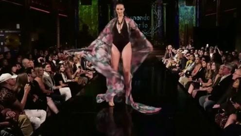 纽约时装周,性感美丽的大长腿,走秀必备!