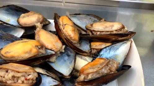 外国海鲜美食,淡菜最美味的吃法