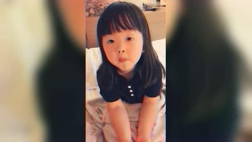 妈妈问了萌娃一个问题,不料女儿神回答,笑的我肚子疼!
