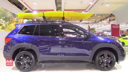 新款本田Passport内饰曝光,土豪们觉得这台车怎么样?