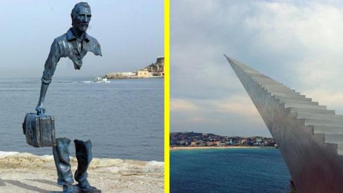 4个违反自然定律的雕塑