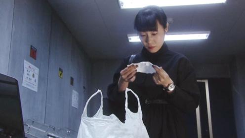 女子特别爱翻垃圾桶,有天她翻到一张纸条,看清内容后被吓到了