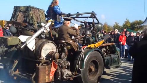 800匹的摩托车见过吗?德国发烧友暴力改装,全球最大侉子!