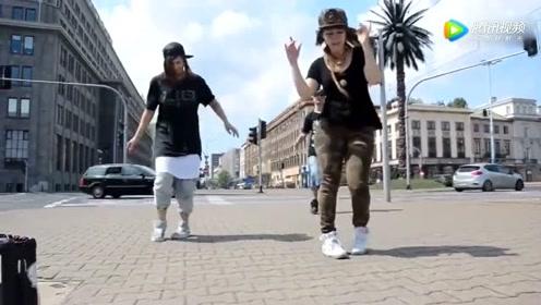 曾经火遍大街小巷的Cwalk舞蹈,当年会跳这舞的人