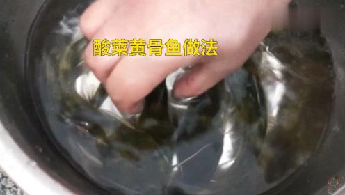 酸菜黄骨鱼的做法是什么