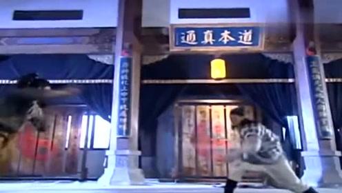 倚天屠龙记:张无忌乾坤大挪移融合太极剑法,对手被打的瞬间倒地