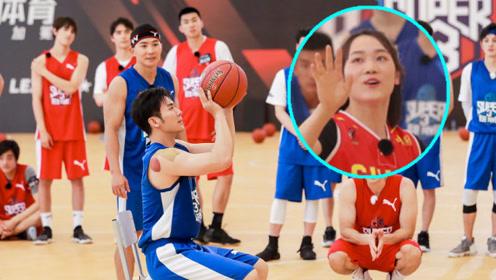 李晨分手后篮球场展现球技 微博为女子轮椅篮球队打call