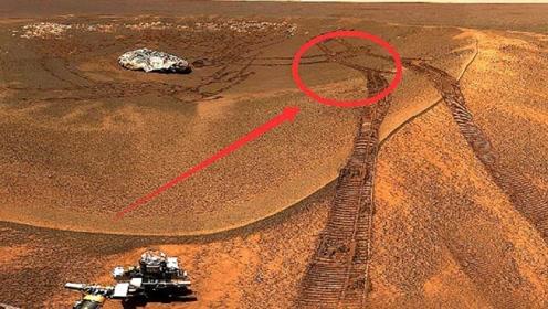火星发现大量车轮痕迹,并非自然形成,难道真的有生命存在吗