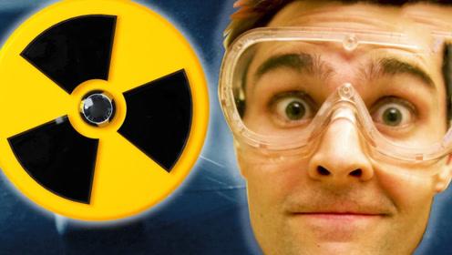 什么是核辐射,国外牛人用生命实验,带你用肉眼看清核辐射!
