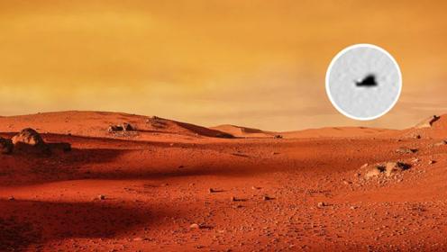"""重大发现!火星惊现神秘""""老鹰""""身影,火星真有其他生命吗?"""
