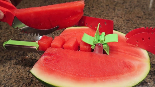 西瓜还能这样吃?真是太有创意了