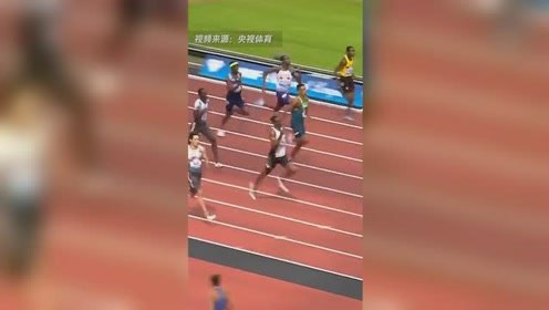 """19秒88!谢震业打破200米亚洲纪录 堪称""""第九道奇迹"""""""