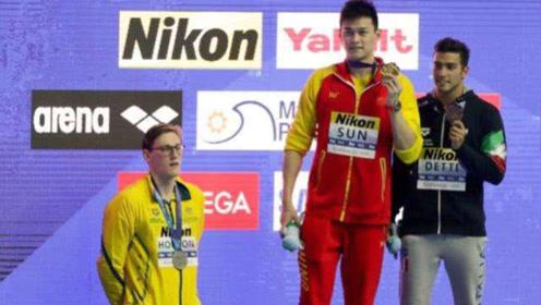 还是不服!霍顿将抗议泳联警告,孙杨霍顿恩怨缘起里约奥运会