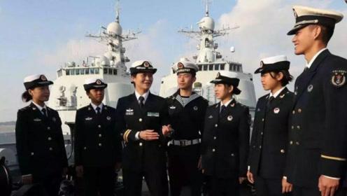 34岁女子特招入伍,曾经当过环球小姐,如今却是驱逐舰的舰长!