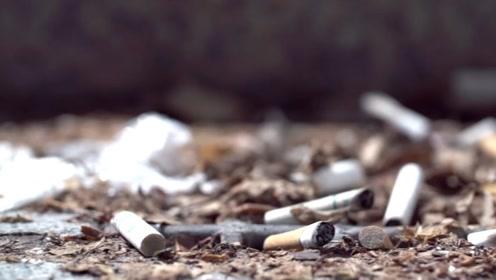 有了这种技术,烟头也是可回收垃圾!国外在回收国内却扔掉