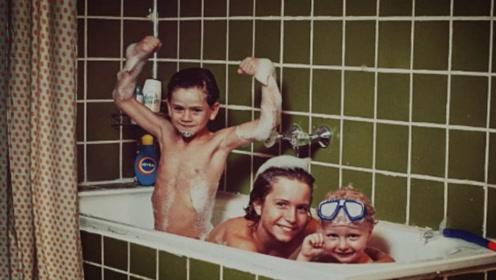 精选视频:三兄弟在浴缸里,一镜到底