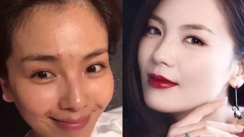 化妆品会伤害皮肤?看看常化妆与素颜女生,10年后的皮肤变化!