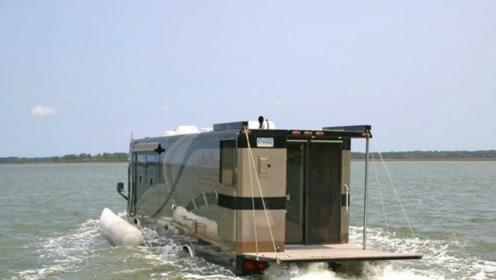 两栖房车,能下地能入海,这样的房车你见过吗?