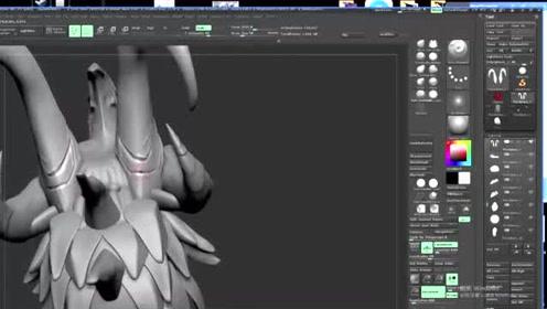 ZBrush怪物全面剖析雕刻教程零基础入门到精通