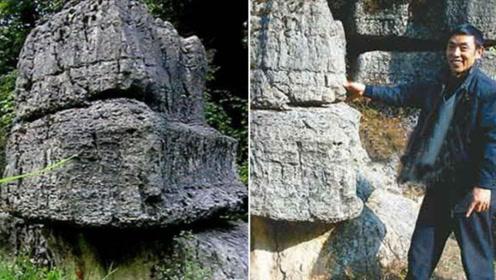"""重庆深山发现一""""怕痒石"""",用手一按就会大笑,真是太神奇了!"""
