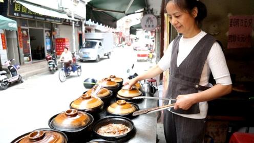 20平小店4张桌子,一锅砂锅75块,夫妻俩每天最少卖100锅