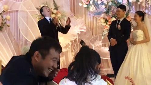 大型婚礼口误翻车现场,毕竟都是第一次结婚,没什么经验!