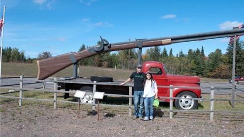 史上最大步枪,重量近2吨,士兵根本搬不动,已创下世界纪录