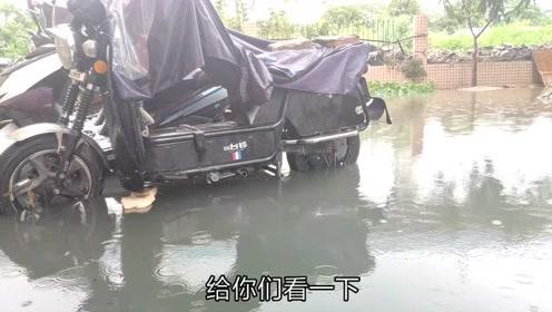 深圳不下雨,一下雨真的连门都不想出去了,昨天的外卖隔外难送