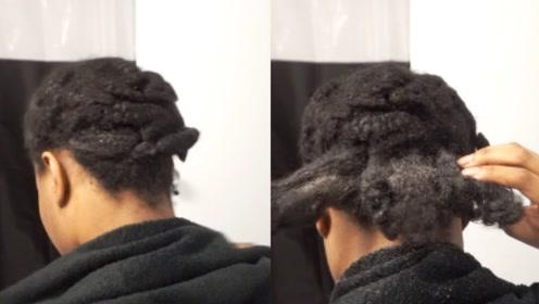 """非洲黑人的""""脏辫""""有多脏?洗头发还得用刷子,画面简直辣眼睛"""