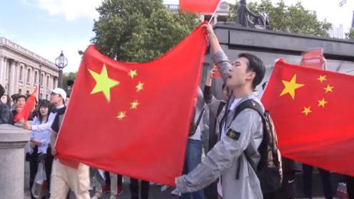 燃爆!世界各地中国留学生以这种方式爱国护港