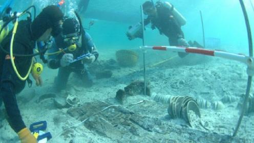 日本在海底捞出一艘古船,上面还装满中国文物,到底咋回事?