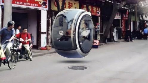 国内大学生自创全球首台悬浮汽车,连轮子也不需要,国外连口称赞