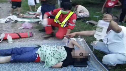 中国旅行团老挝遭遇车祸续:伤者多转至万象,家属尚未抵达
