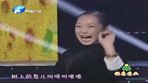 梨园春:牛欣欣、邓鸣贺一同表演豫剧《拷红》,台下观众欢呼不停