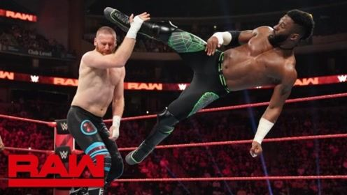 RAW1369期: 擂台之王争霸第一轮 亚历山大腰椎粉碎萨米