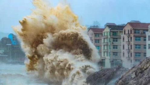 超强台风利奇马有多可怕?镜头实拍肆虐过程,看完背后发凉!