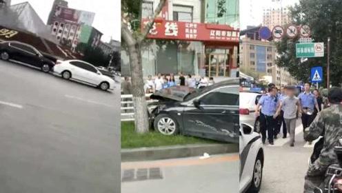男子驾车连撞多车被控制,警方:携胰岛素泵,有明显嗜睡现象
